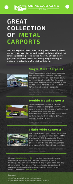 Great Collection of Metal Carports