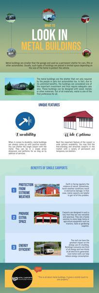 What to look in Metal Buildings