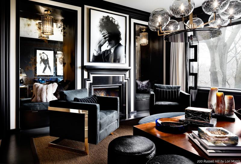 Stylish Black Rooms
