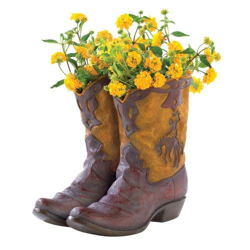 The Cowboy Boots Planter