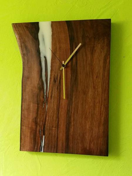Modern wall clock  Rustic wall clock