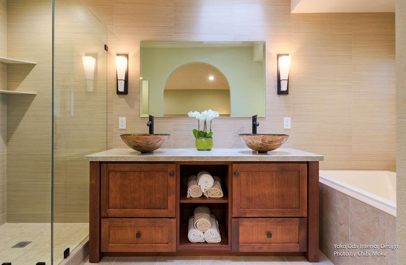 Yoko Oda Interior Design | Zen Bathroom | Walnut Creek, CA