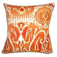 Haestingas Ikat Pillow Pumpkin Pumpkin Pillow | Vintage Gifts Unlimited