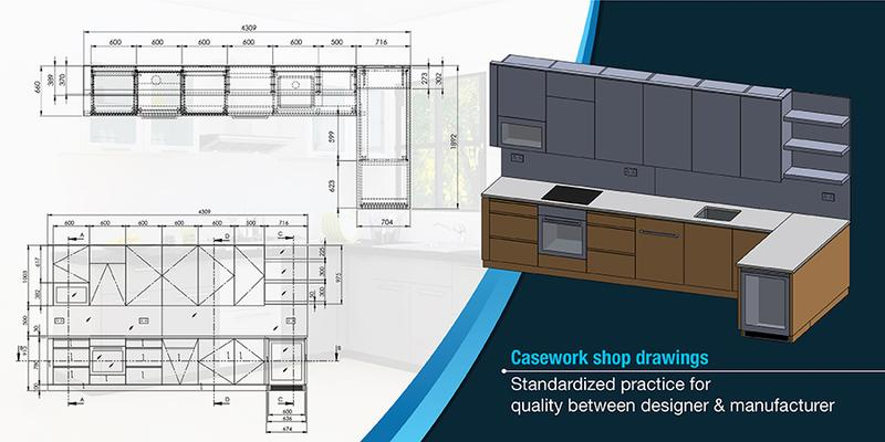 Cabinet shop drawings: Challenges and solutions for Cabinet Makers and Architects