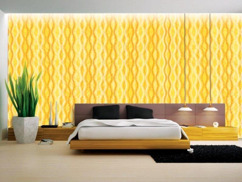 Yellow Wallpaper Designs - Modern Wall Paper