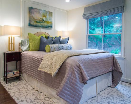 Kings Road Transitional Guest House Designed by Courtney Thomas