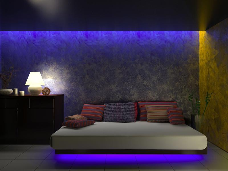LED Lights - New Ways To Light-Up Your Rooms