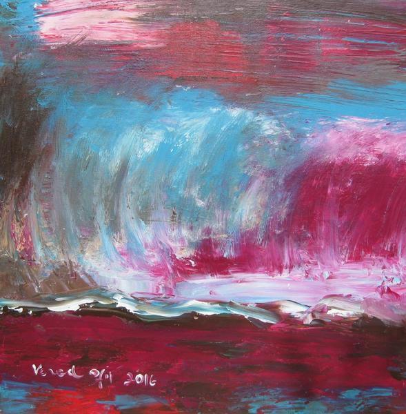 Stormy Day - Acrylic On Canvas 60X70cm