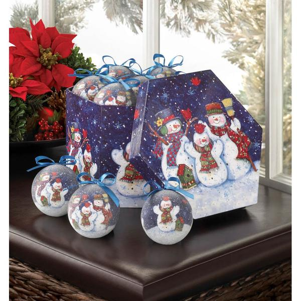 Christmas Tree Ornament Set - Holiday Decor