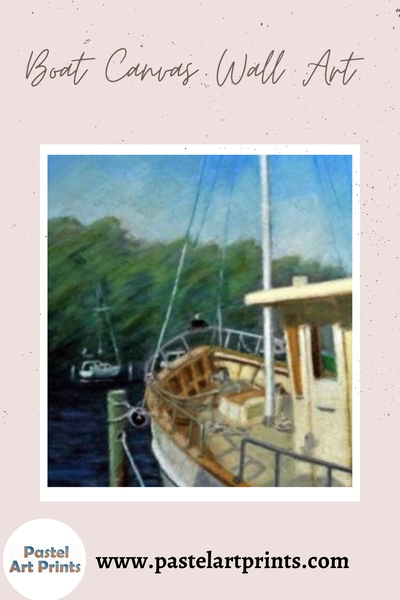 Buy Boat Canvas Wall Art at the Great Price