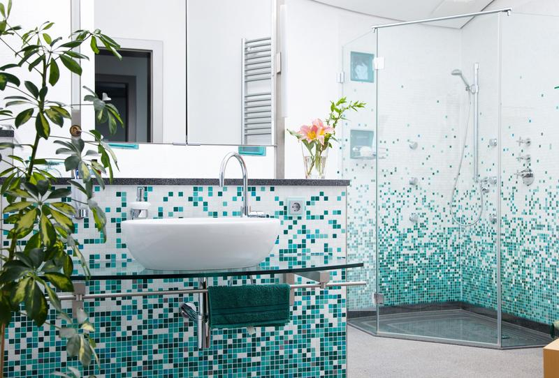 Bathroom Tiles Designs With Highlighters : Tiles bathroom kitchen backsplash and floors