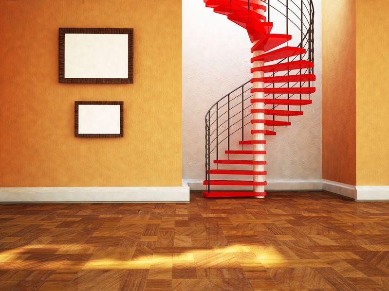 Staircase designs ideas - Straight Run Stairs, L Stairs, Double L ...
