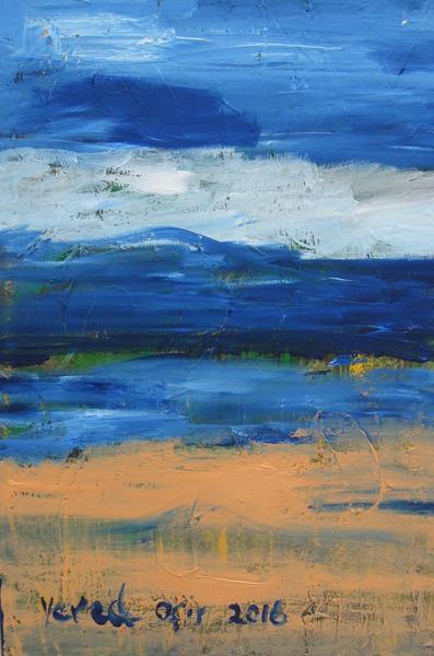Desert view Acrylic on canvas 40X60cm