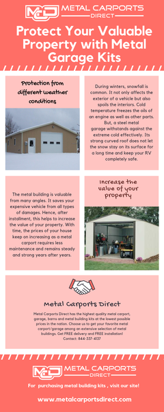 Protect Your Valuable Property with Metal Garage Kits