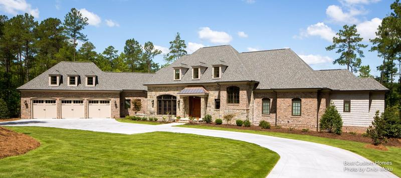 Bost Builders  |  Lake Front French Retreat  | Raleigh, NC