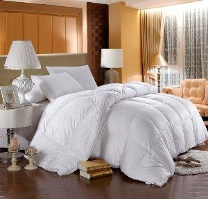 Egyptian Bedding GOOSE DOWN Comforter for Wall Beds, Murphy Bed