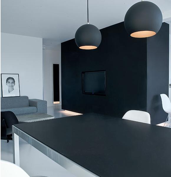 Minimalist Modern Urban Space - Copenhagen Penthouse II