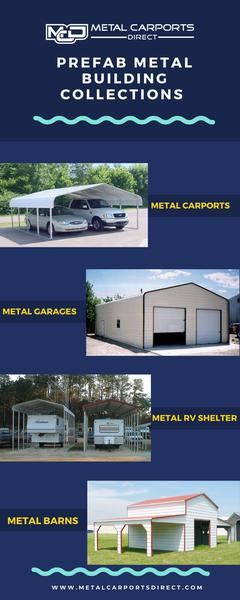 Prefab Metal Building Collections  - Metal Carports Direct
