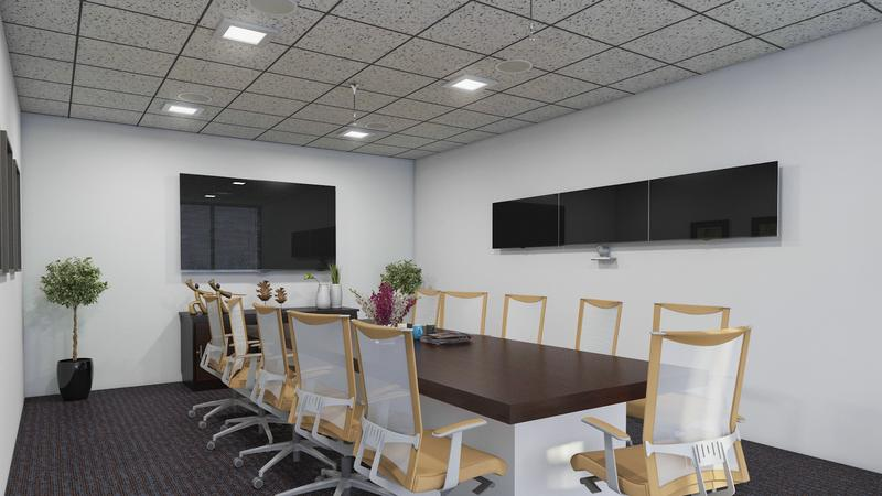Conference Room 3D Interior Design Nashville