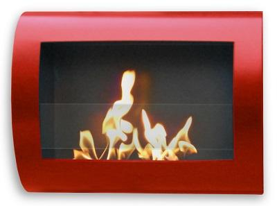 Anywhere Fireplace Chelsea Indoor Wall Mounted Biofuel Fireplace