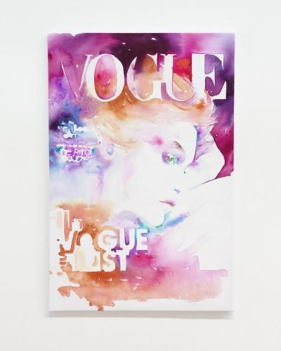 Vogue Cover List Canvas Print