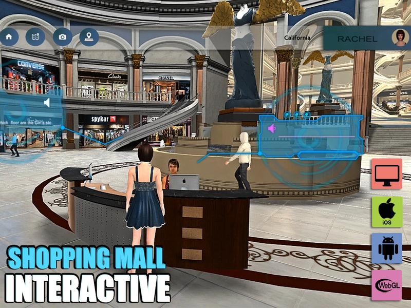 A Virtual Shopping Mall Application by Virtual Reality Companies, Denton – Texas