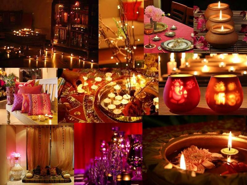 Go blingy this diwali diwali decoration ideas for Home decorations ideas for diwali