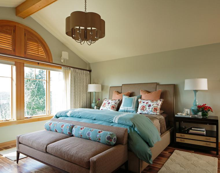 Lively Master Bedroom
