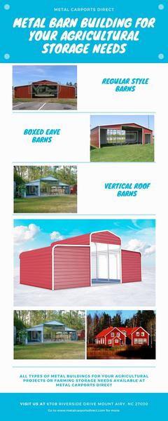 Buy Metal Barn Building for your Agricultural Storage Needs