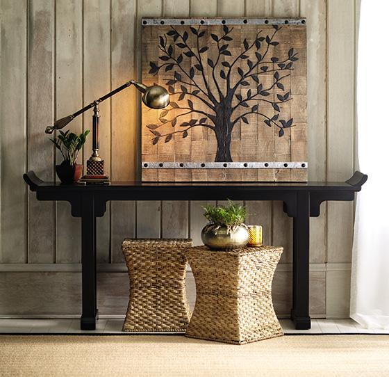 The foyer passage to first impression for Large foyer wall decorating ideas