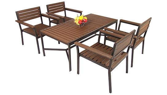 Artificial wood set