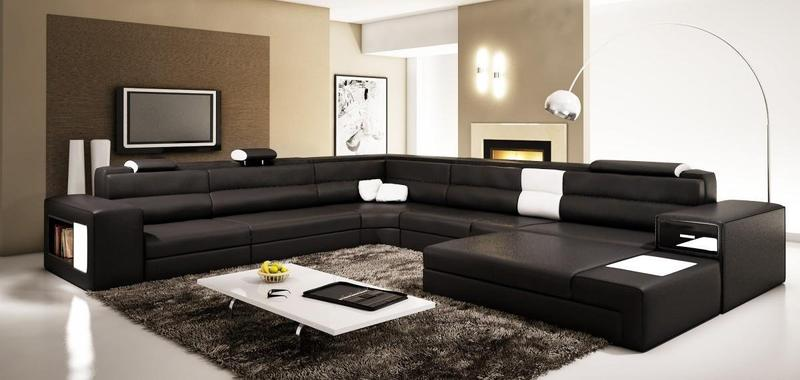 Contemporary sectional sofa sets latest styles and for Latest drawing room furniture