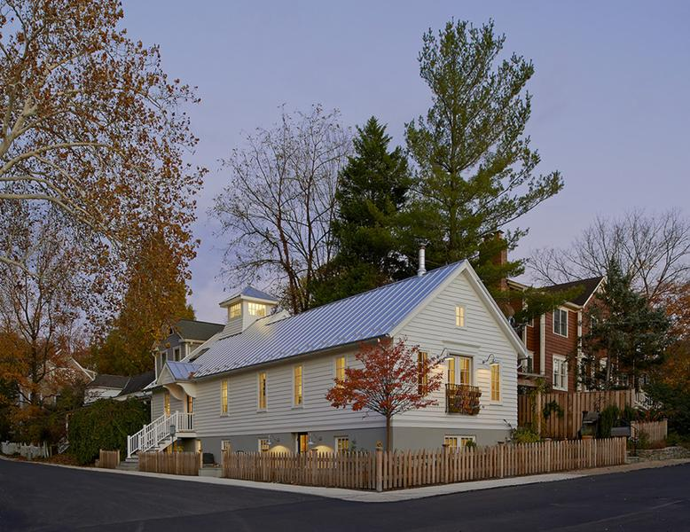 Transformation Of An Historic Church Into A Modern Family's Sanctuary