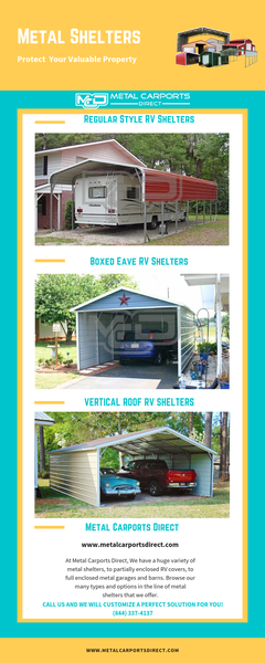 Metal Shelters: How to Protect your Vehicles