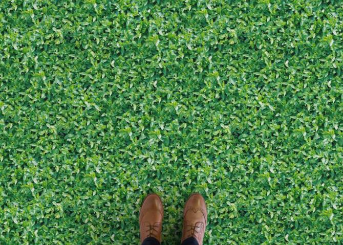 Verdure - Leaf Foliage Vinyl Flooring