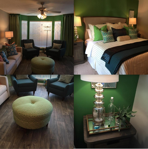 The Touch Of Green - Model At Caledon Apartments