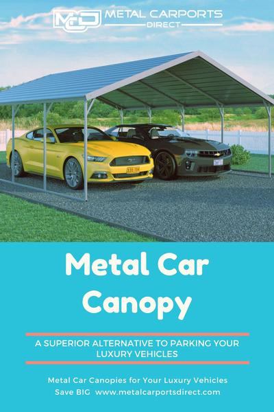 Metal Car Canopies for Your Luxury Vehicles
