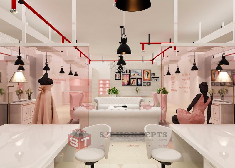 Retail interior fit out in Dubai