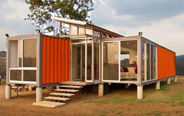 Stunning Solar Powered Off-Grid Shipping Container Home