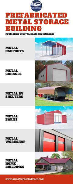 Prefabricated Metal Building: Solve your Storage Problem