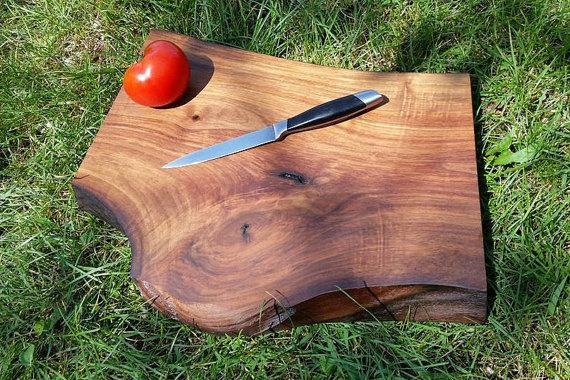 Walnut Serving Board & Cutting Board
