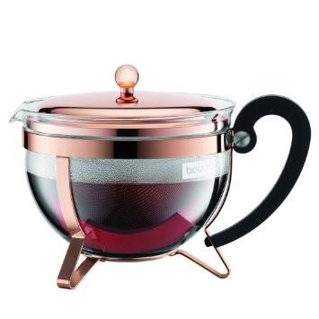 Chambord French Press Teapot - 1.5 Litre Copper - New At cedar  - More