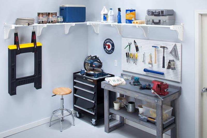 Expandable Garage Shelf Kit