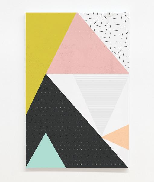 Geometric 3 Canvas Print Wall Art