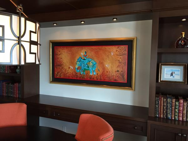 i will create private commission with gouache and acrylic - Wall Niches Designs