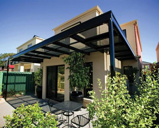 Outdoor open terrace restaurants and cafe design ideas for Open pergola designs