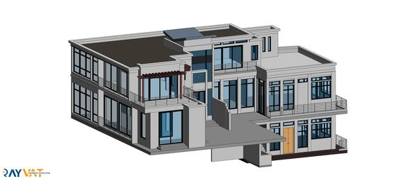 Revit 3D Modeling Services