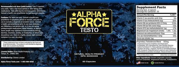 Alpha Force Testo Canada http://www.healthmegamart.com/alpha-force-testo/