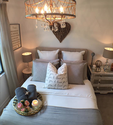 Tranquil, Rustic, Charming Guest Bedroom Designed With Love & Passion
