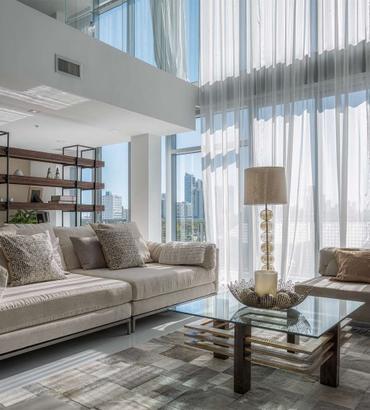 Mila Design | Penthouse 7 at 4 Midtown | Miami, FL